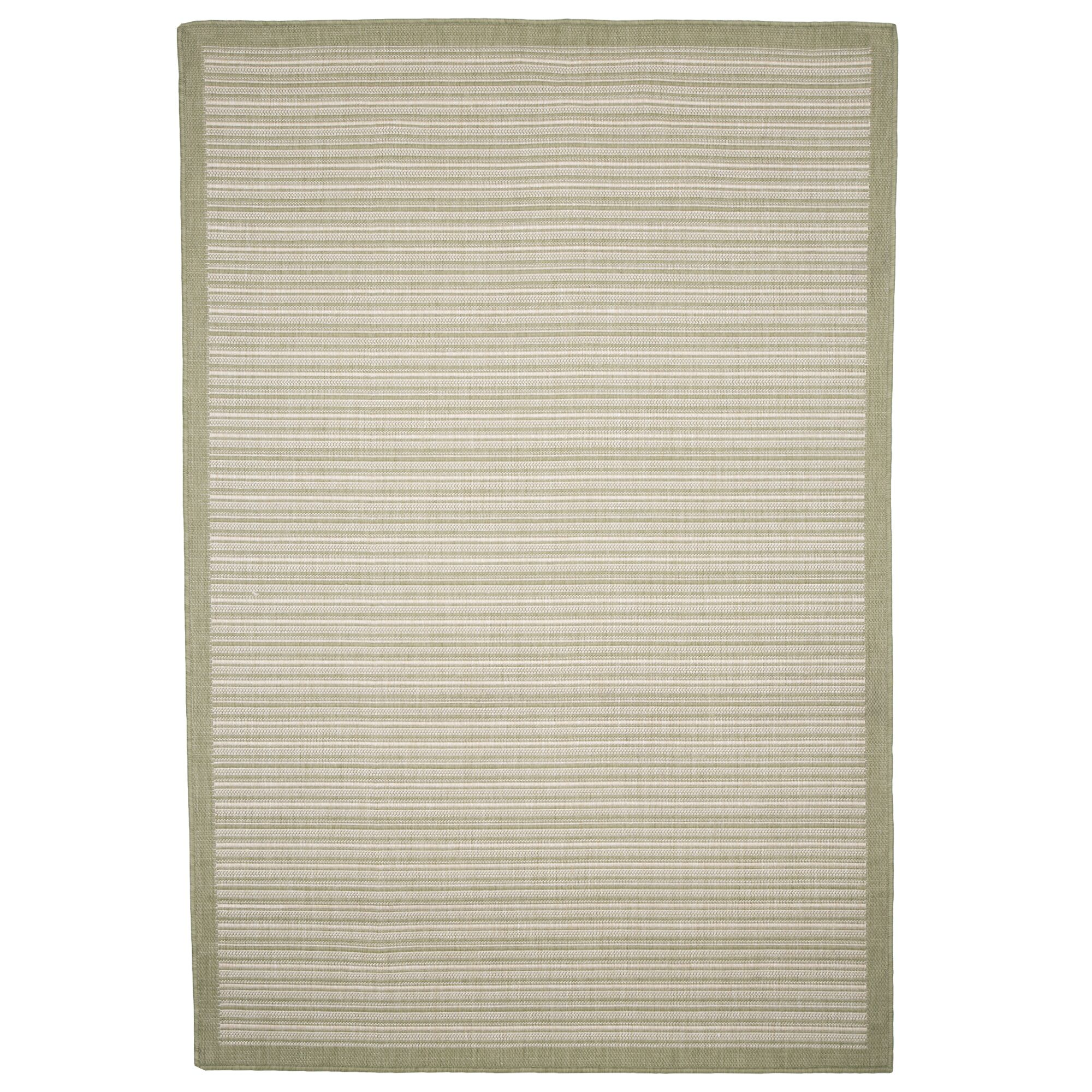 Green/Beige Indoor/Outdoor Area Rug Rug Size: Rectangle 5' x 8'