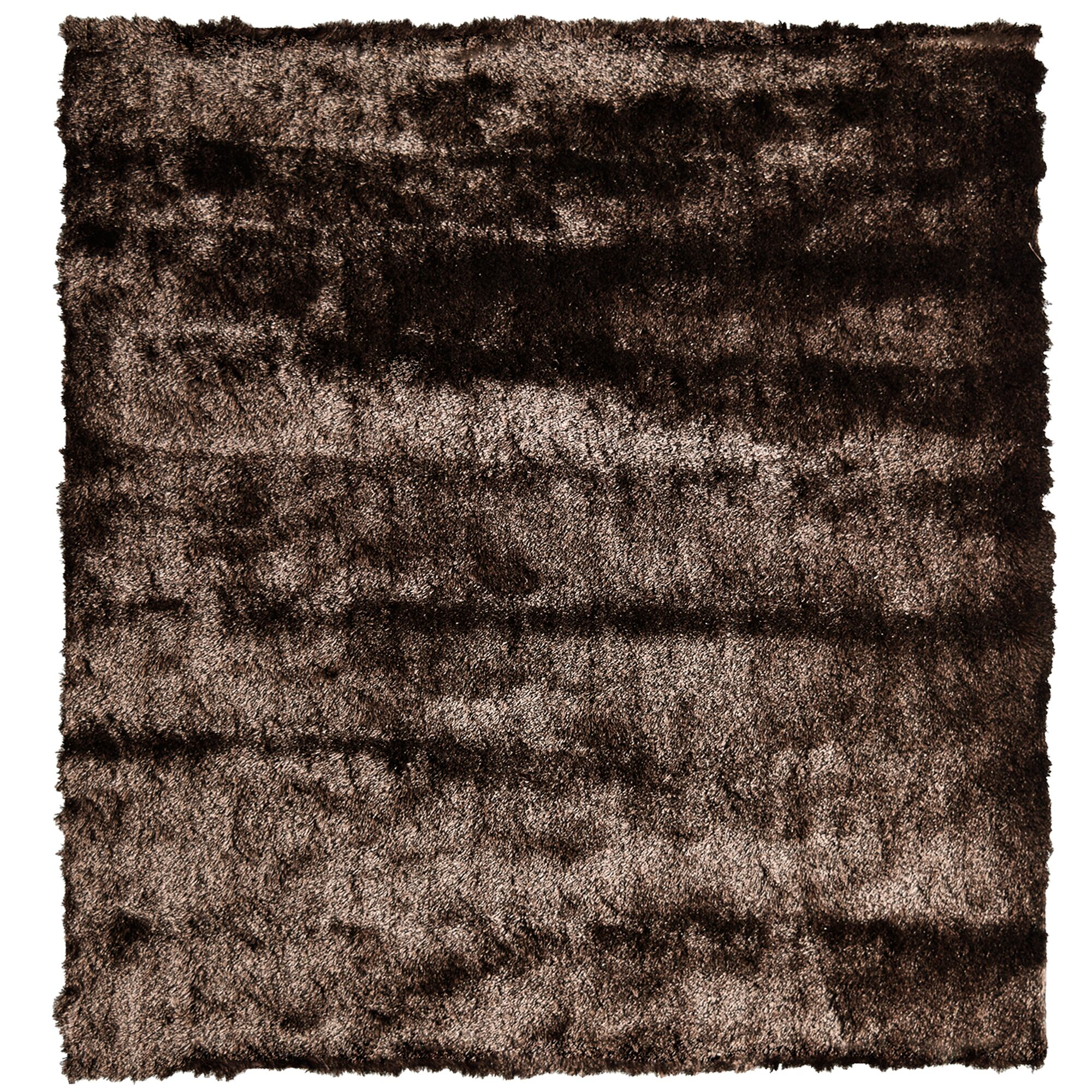 Moonlight Path Chocolate Area Rug Rug Size: Square 5'