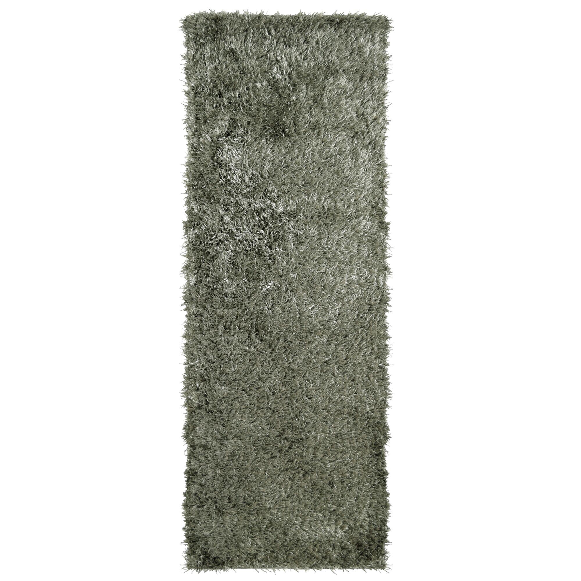 City Shag Hand-Tufted Gray Area Rug Rug Size: 6' x 9'