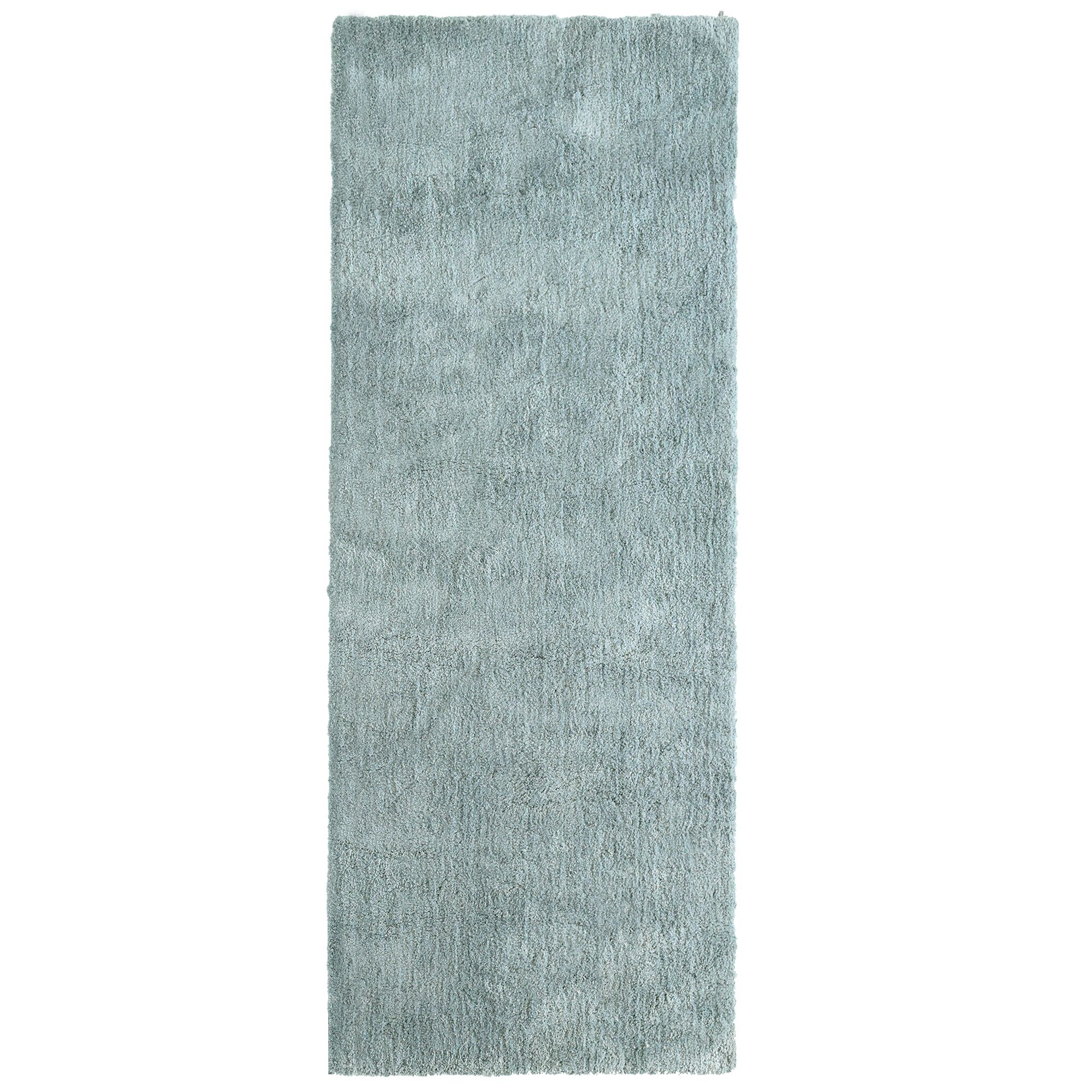 Fluffy Silver Area Rug Rug Size: 6' x 9'