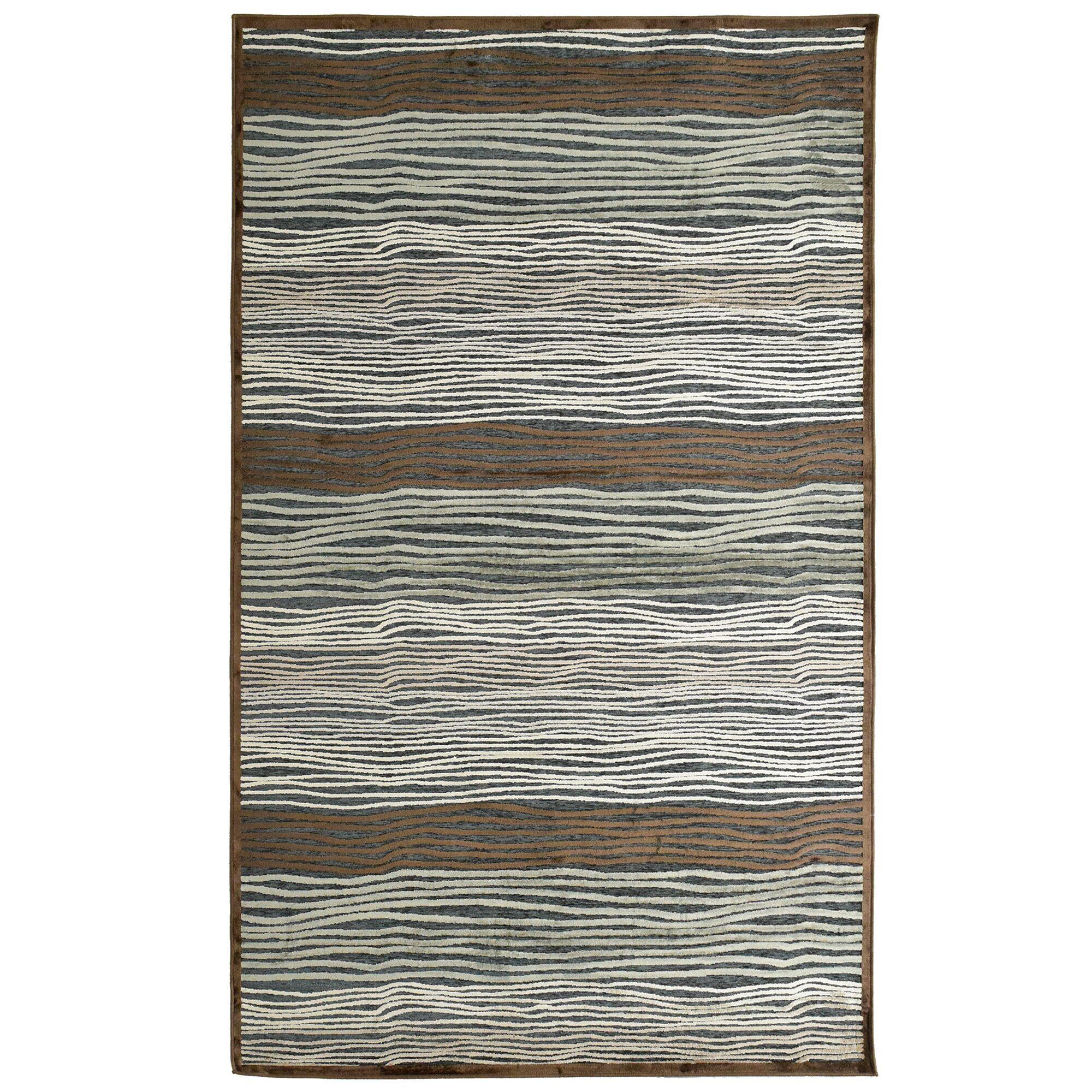 Ricardo Brown/Gray/Green Slate Rug Rug Size: 6'4