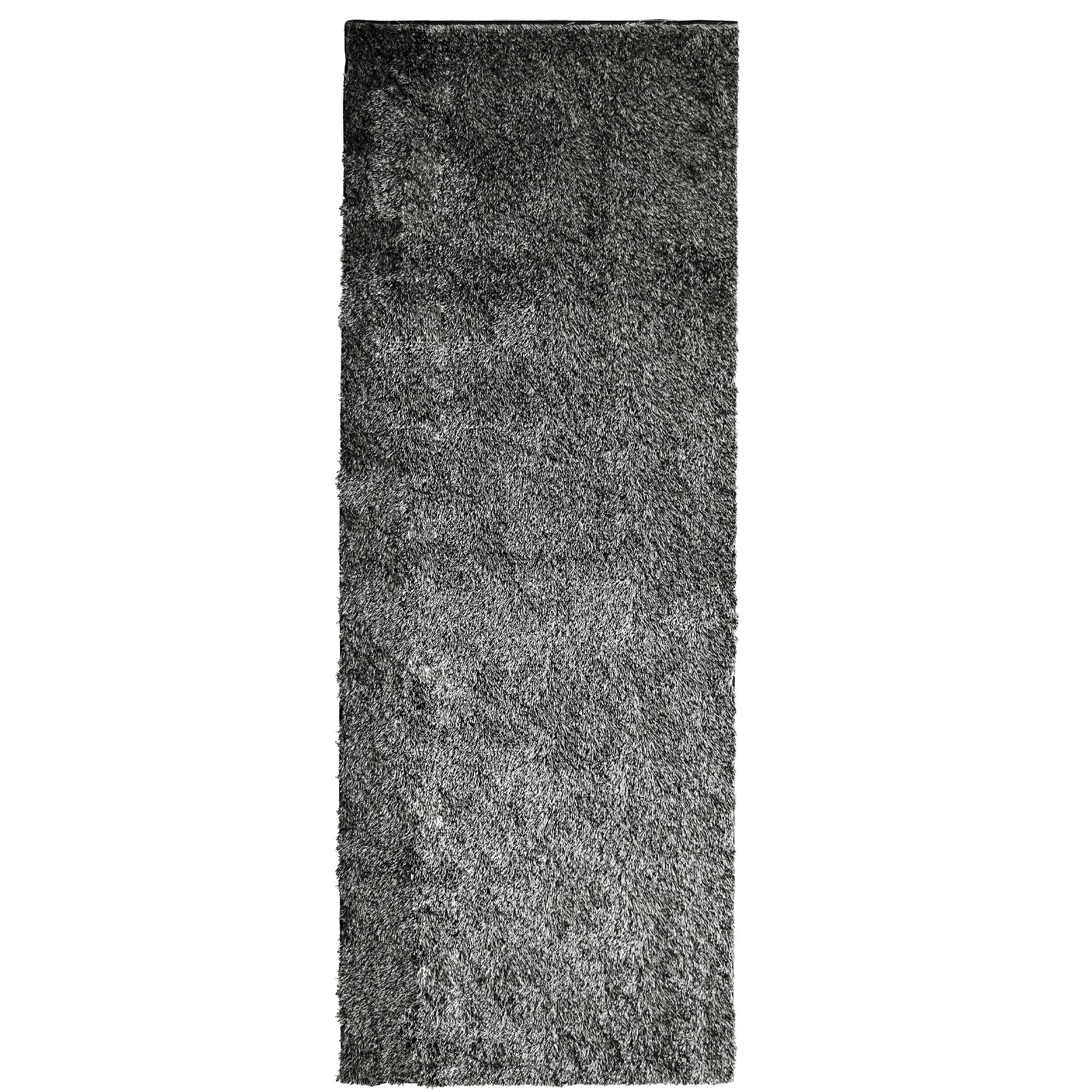 Metro Silk Salt and Pepper Area Rug Rug Size: 5' x 7'6