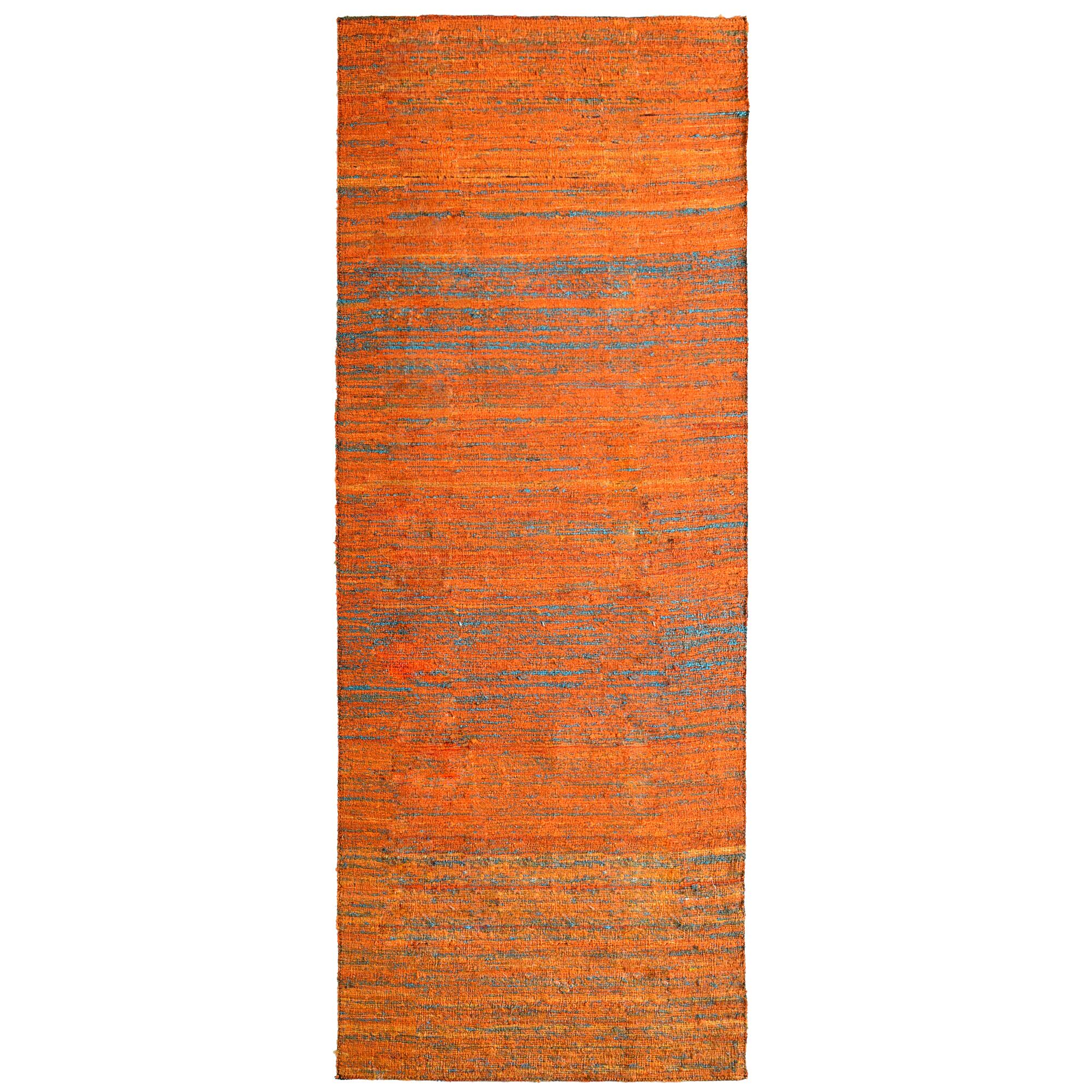 Sari Marigold Hand Woven Area Rug Rug Size: Runner 2' x 8'