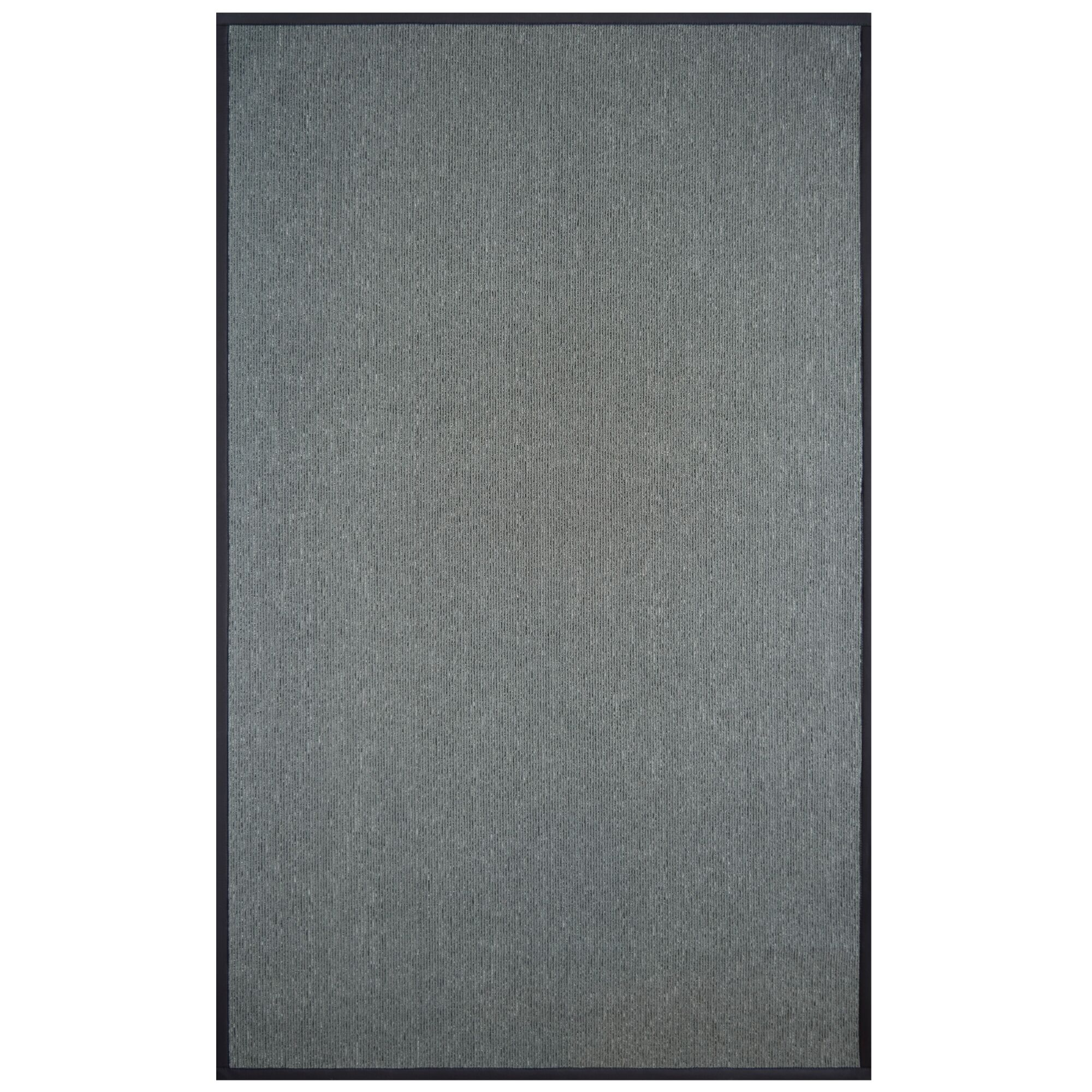 Ornelas Charcoal/Silver Area Rug Rug Size: Rectangle 4' x 6'