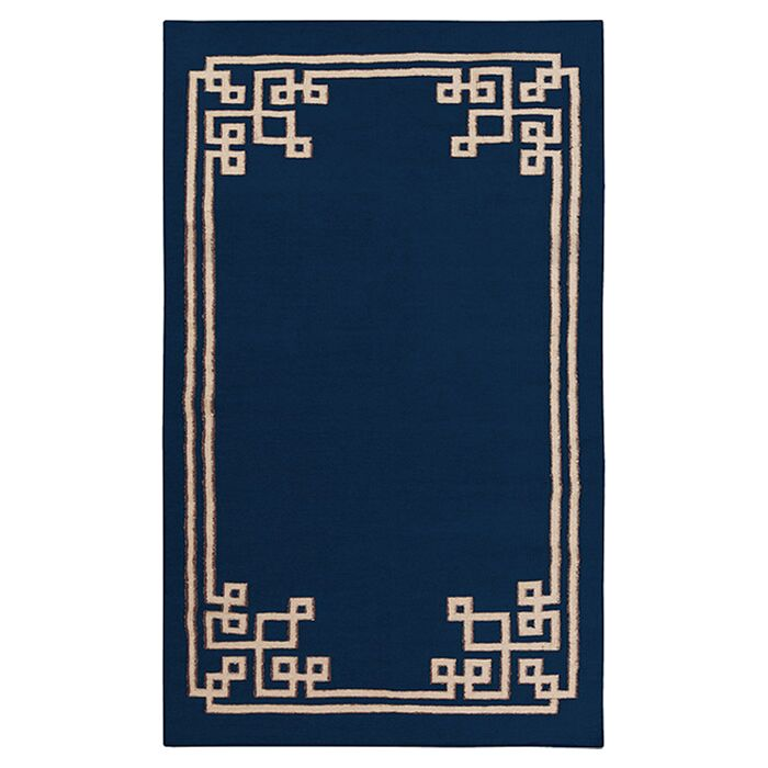 Alameda Sapphire Blue Area Rug Rug Size: Rectangle 5' x 8'