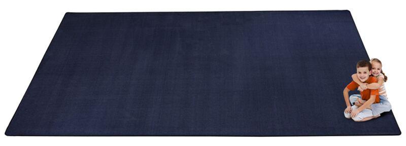 KidTastic Dark Blue Area Rug Rug Size: Rectangle 12' x 18'