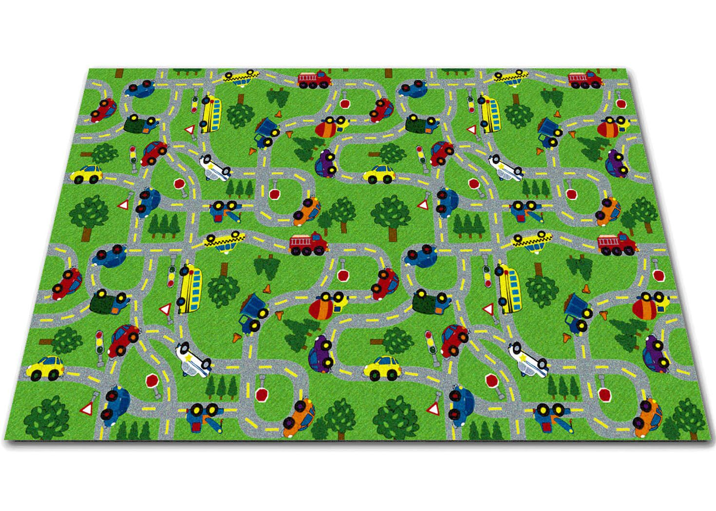 On The Go Green Indoor/Outdoor Area Rug Rug Size: Rectangle 12' x 16'