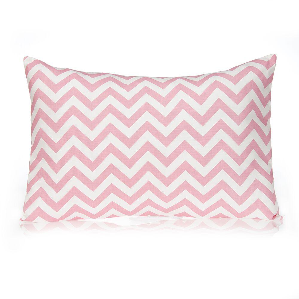 Swizzle Large Sham Color: Pink