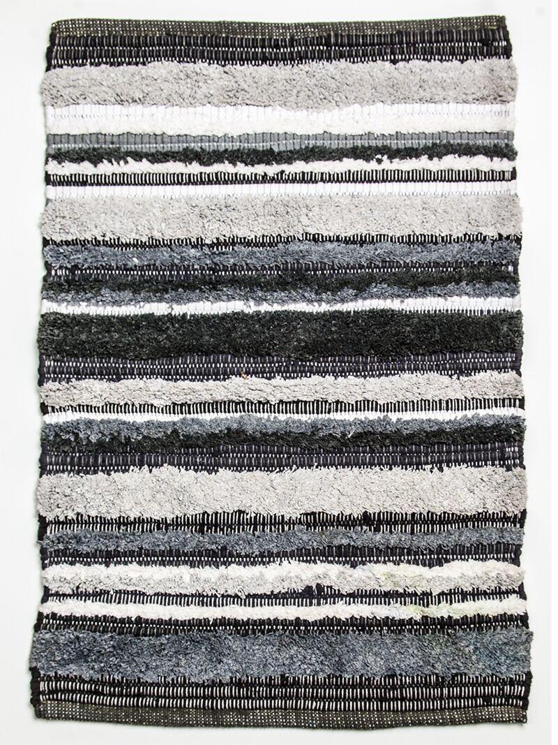 Bossa Nova Hand Woven Cotton Gray Area Rug Rug Size: Rectangle 4' x 6'