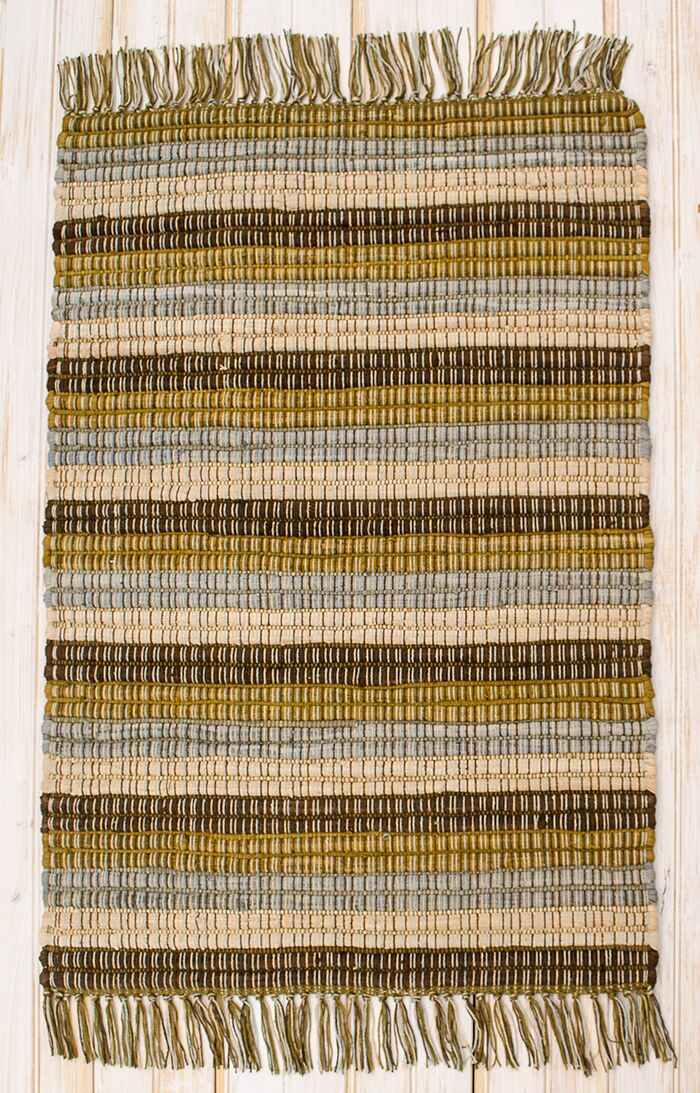 Contempo Earth Area Rug Rug Size: Rectangle 2'6