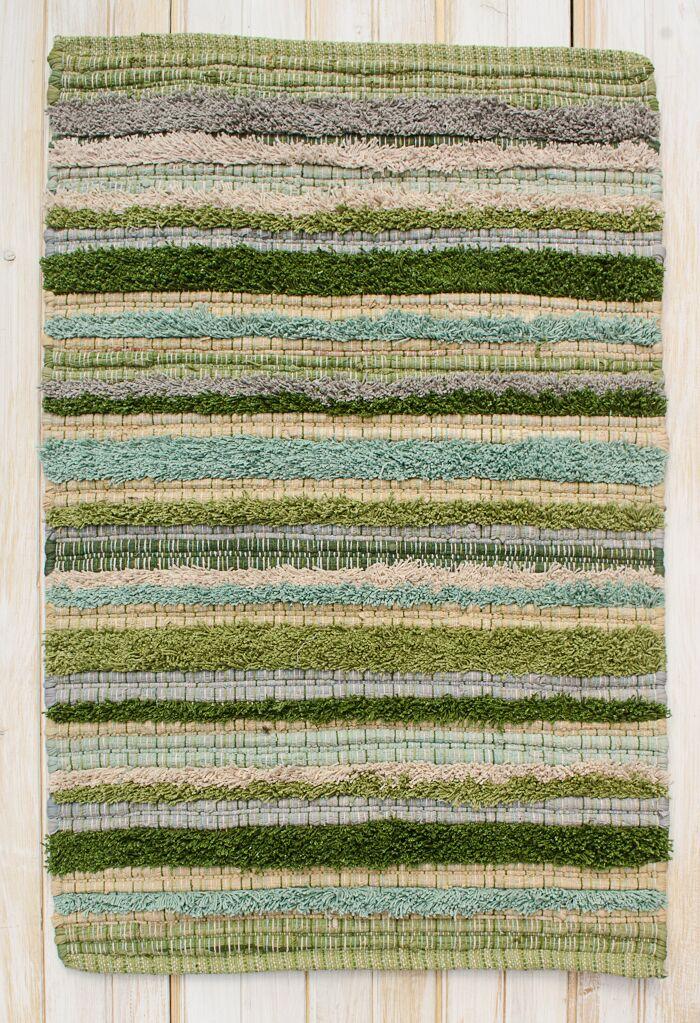 Bossa Nova Blue/Green Area Rug Rug Size: Rectangle 4' x 6'