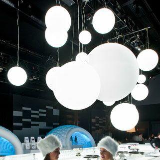 Globo Geoline 1-Light Pendant Wattage: 105W, Size: 47.2