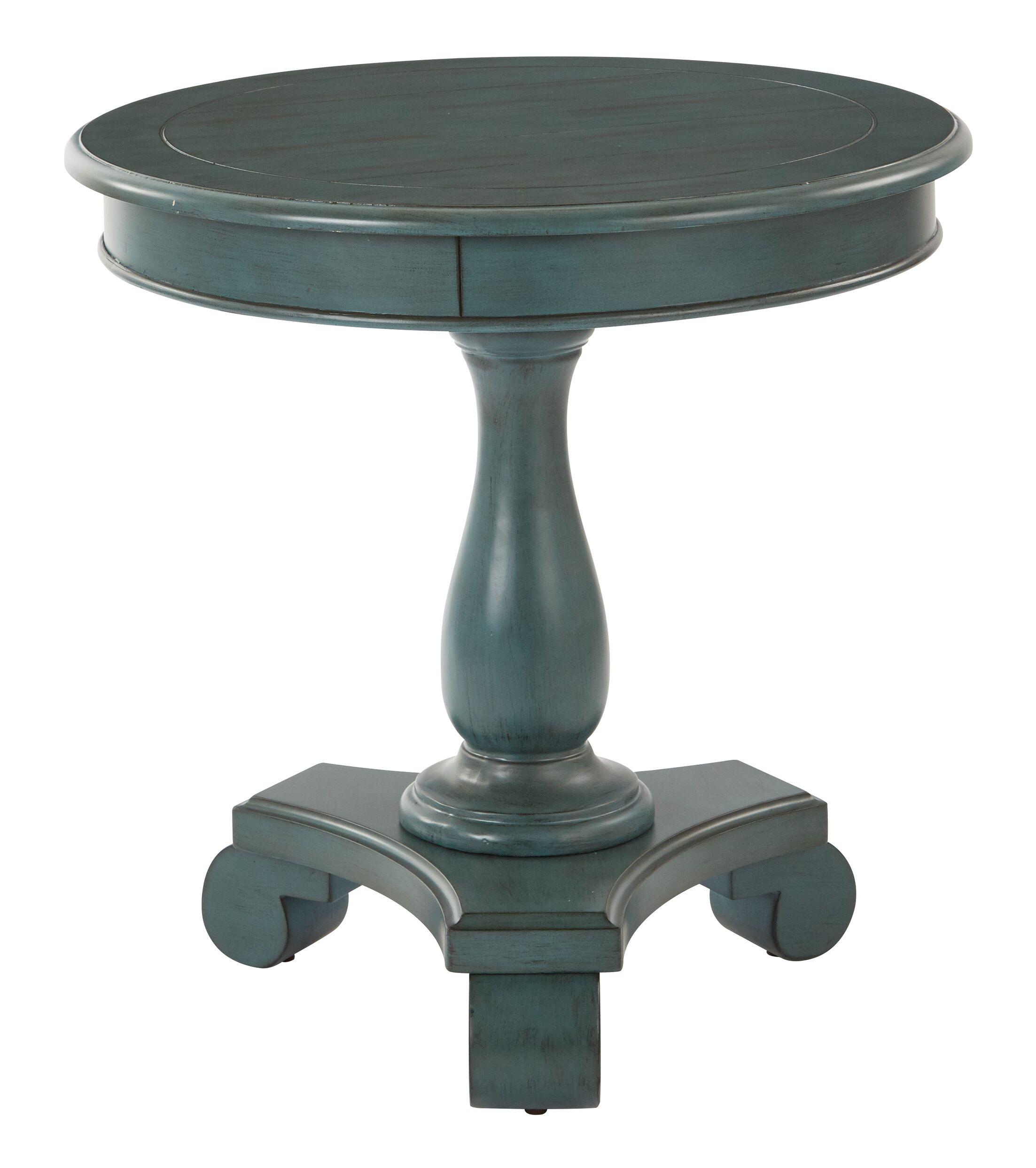 Avalon End Table Color: Blue