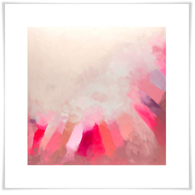 'Pink Light' by Eli Halpin Print of Painting on Paper