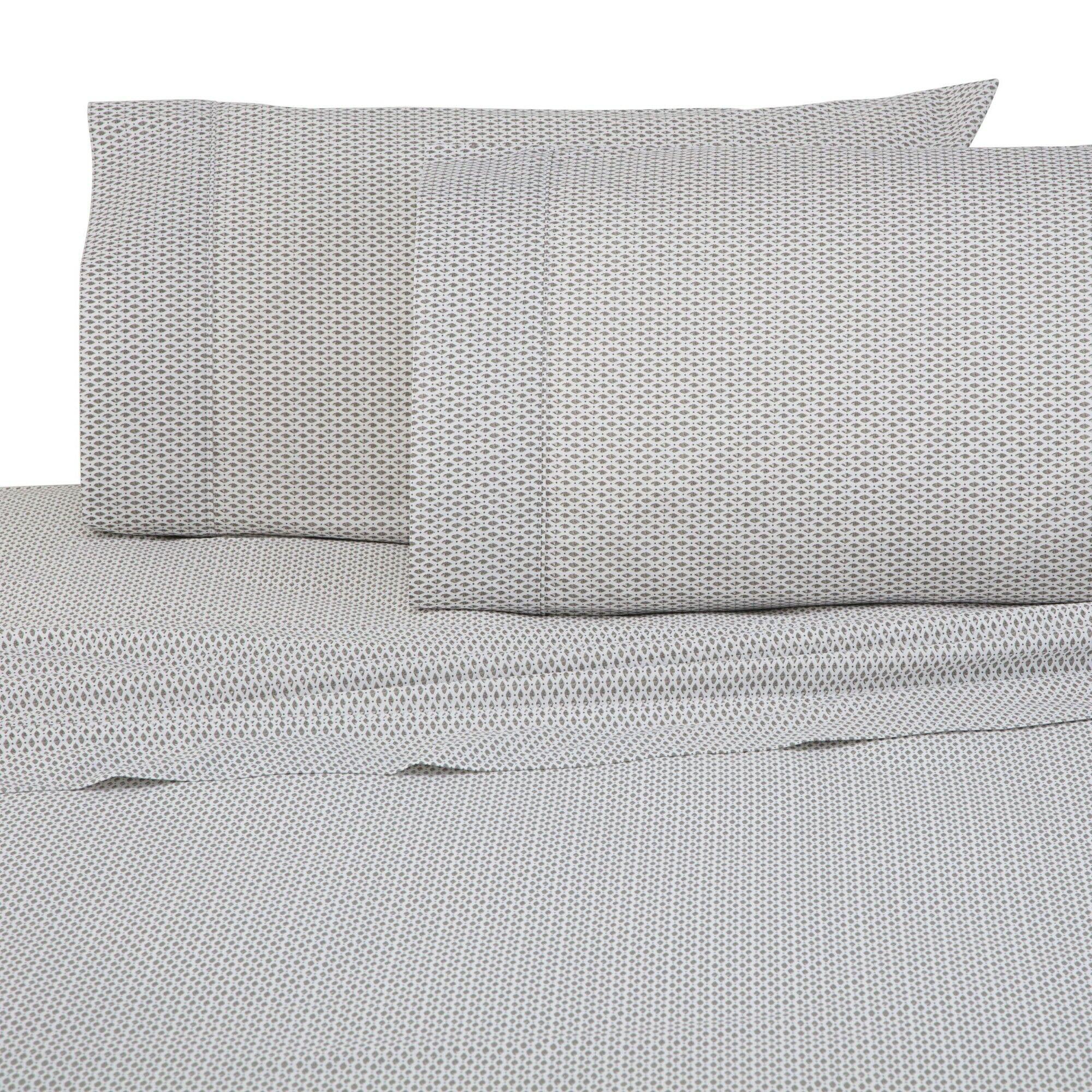 Siesta 300 Thread Count 100% Cotton Sheet Set Size: King