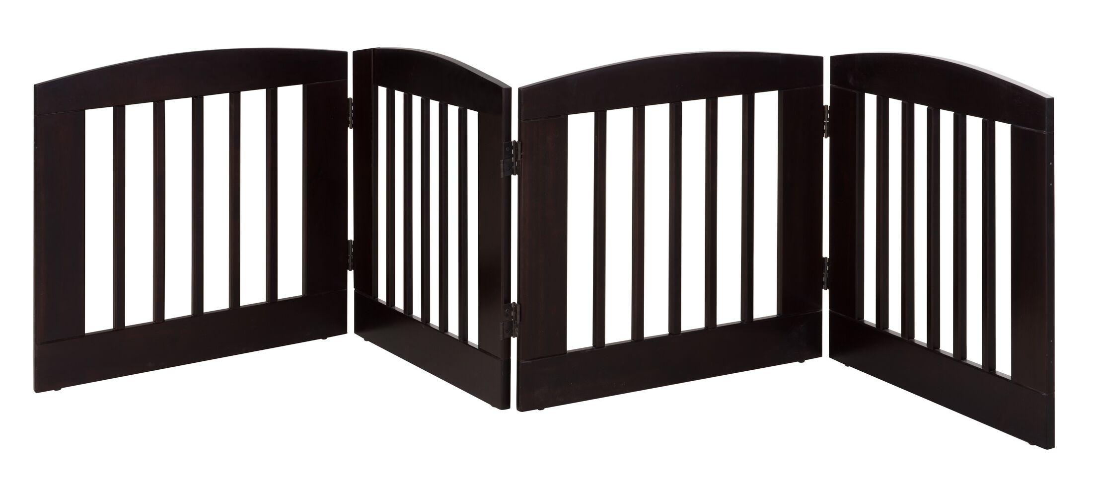Daniella 4 Panel Expansion Dog Gate Size: Medium (24