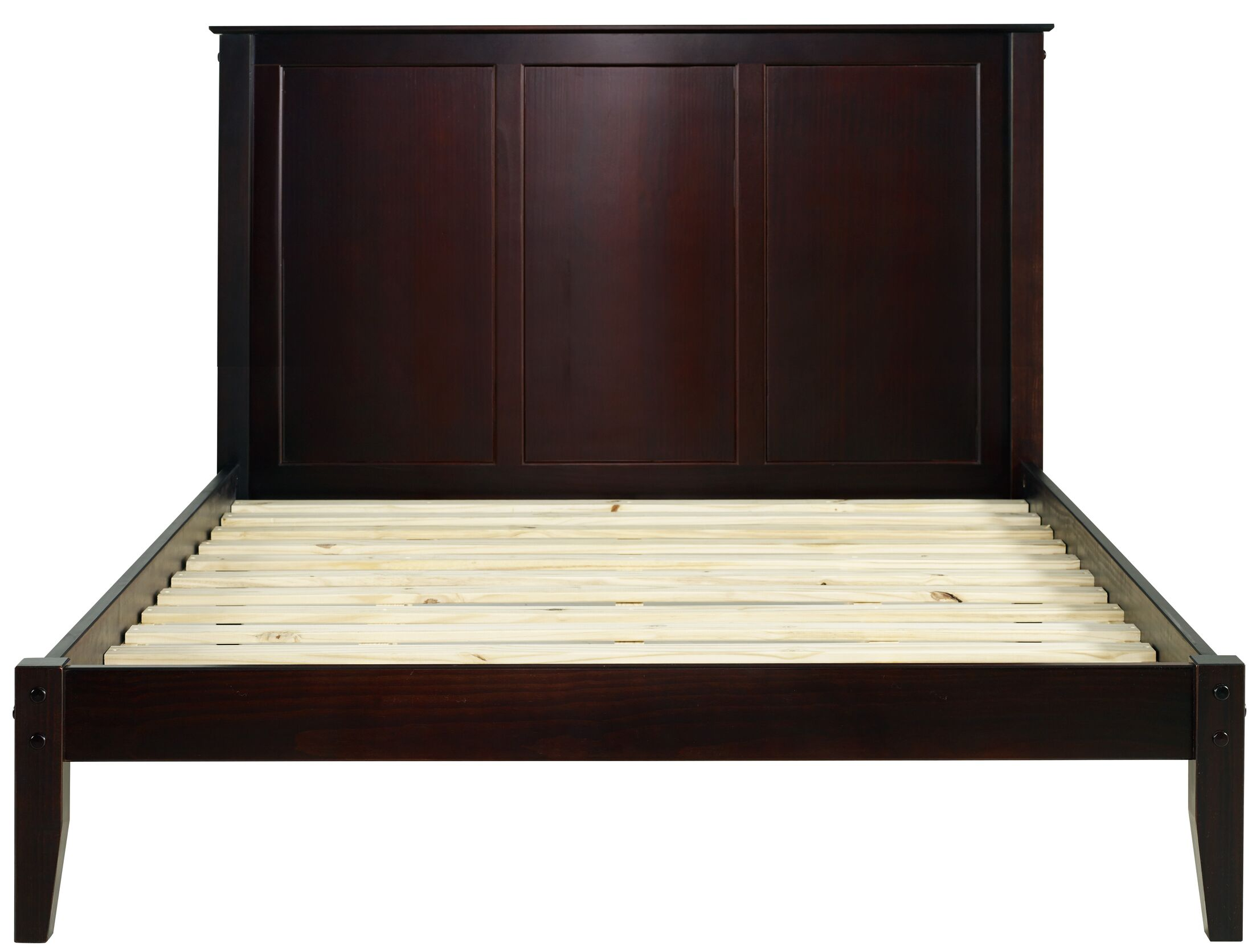 Gammon Garwood Platform Bed Color: Weathered Gray, Size: Queen
