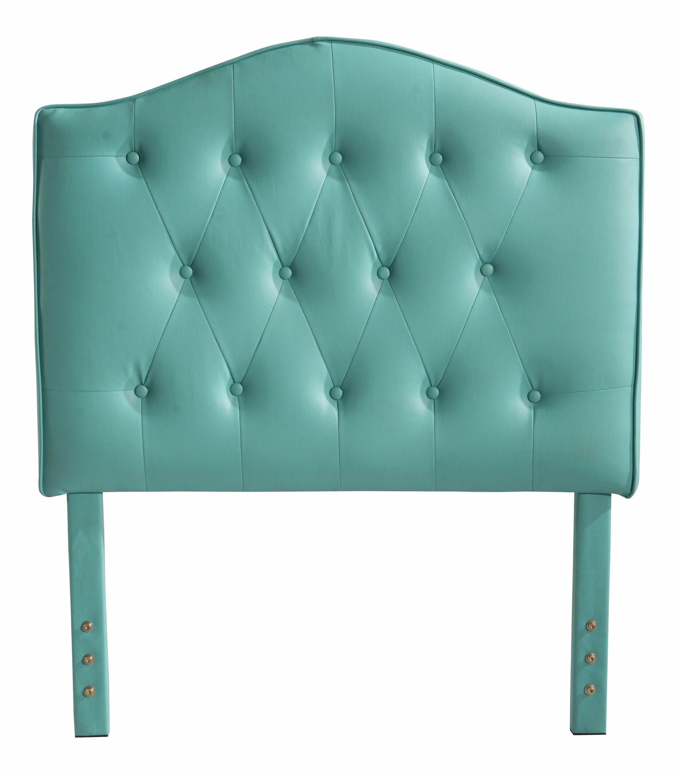 Classic Twin Upholstered Panel Headboard