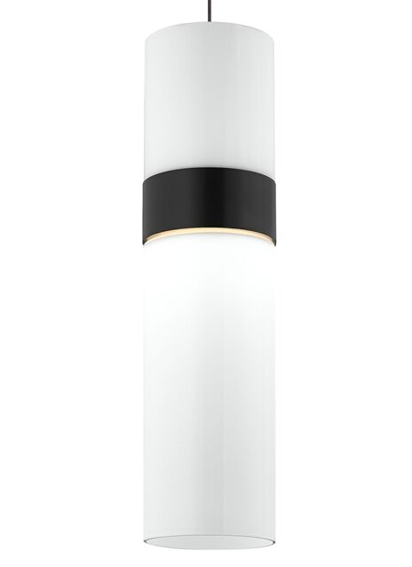 Manette Monopoint 1-Light Cylinder Pendant Finish: Satin Nickel, Shade Color: Transparent Smoke