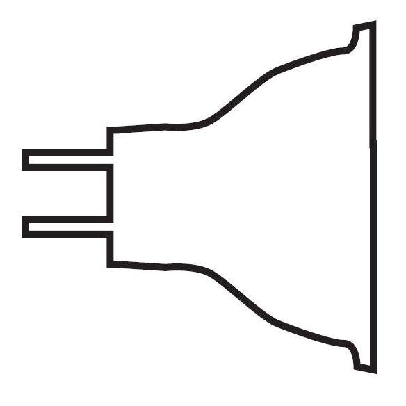 12-Volt (2950/3000K) Halogen Light Bulb Wattage / Degree: 50W / 60