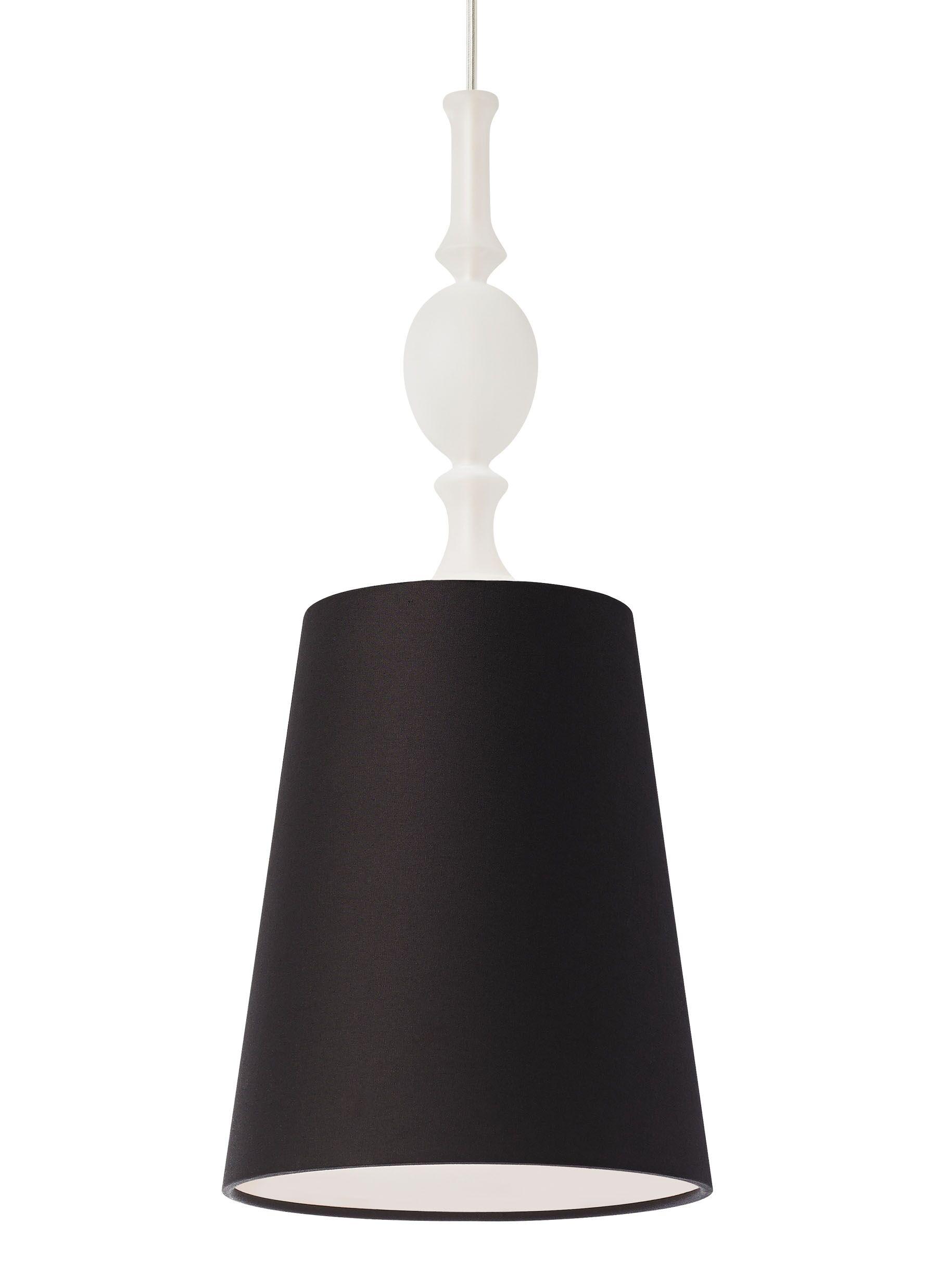 Iliana 1-Light Cone Pendant Finish: Black, Shade Color: Black, Bulb Type: Compact Fluorescent