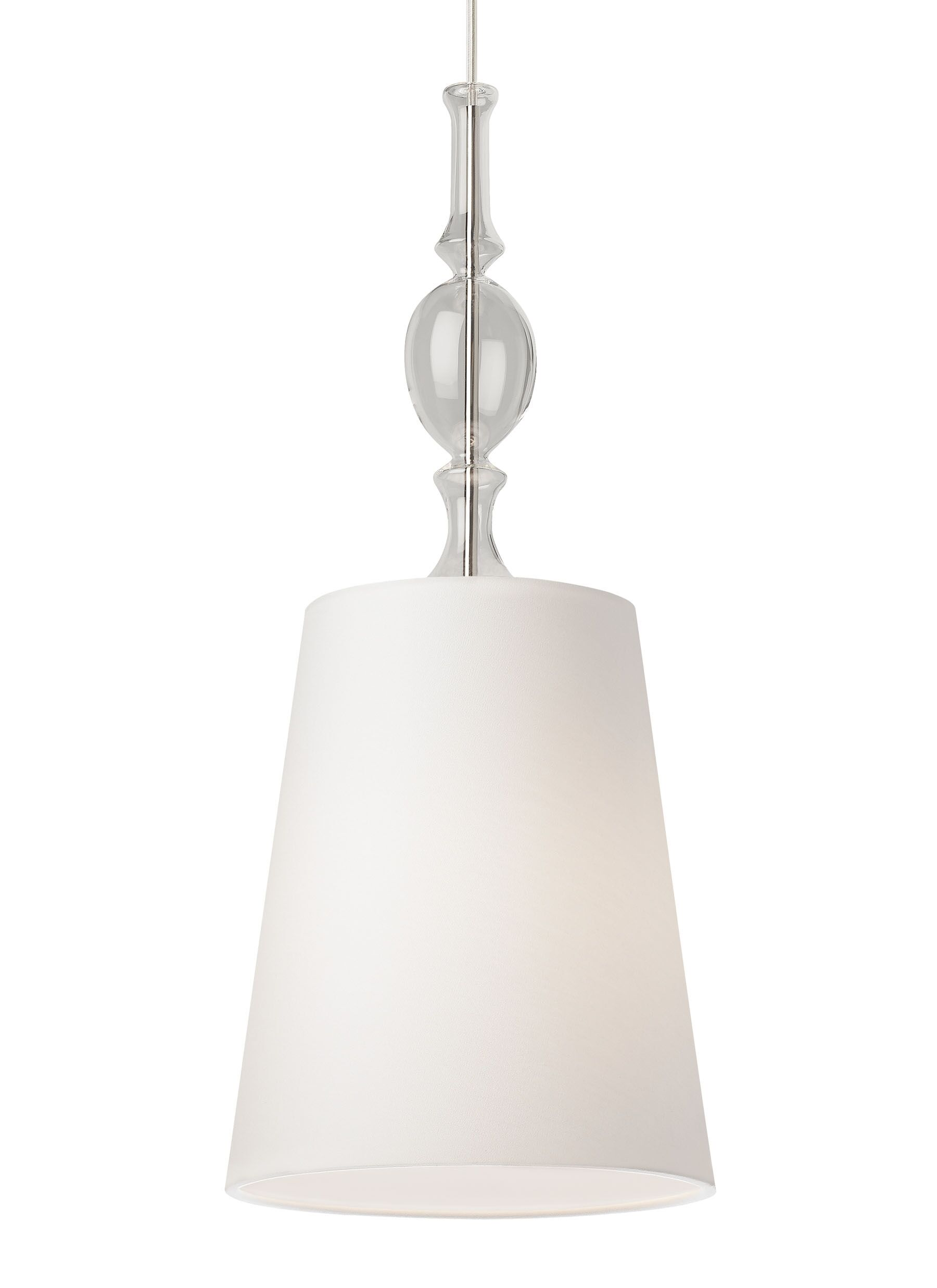 Iliana 1-Light Cone Pendant Bulb Type: Compact Fluorescent, Finish: Antique Bronze, Shade Color: White