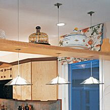Oak Park 1-Light Dome Pendant Finish: Chrome, Shade Color: White