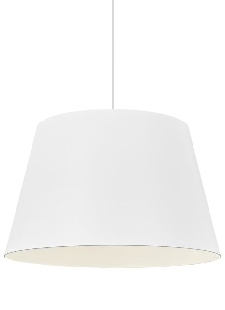 Henley 1-Light Cone Pendant Shade Color: Textured White/White
