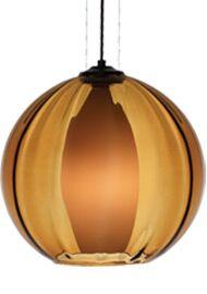 World Inner 1-Light Pendant Finish / Shade / Bulb / Volts: Satin Nickel / Smoke / Fluorescent / 120