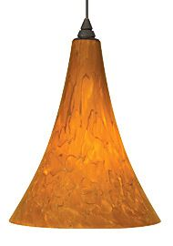 Melrose 1-Light Cone Pendant Finish: White, Shade Color: White, Bulb Type: 1 x 18W 120V Fluorescent