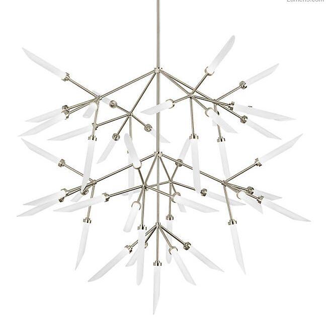 Herlev 45-Light  LED  Chandelier Finish: Aged Brass