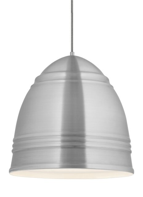 Alonso 1-Light Novelty Pendant Bulb Type: A19 LED 90 CRI 2700K 120V (T20/T24), Shade Color: Polished Nickel, Finish: Rubberized Black