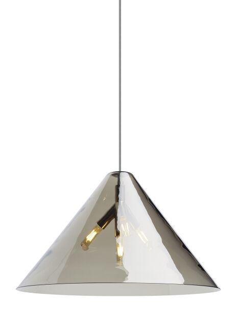 Mairead 4-Light Mini Pendant Finish: Aged Brass, Bulb Type: LED T6 90 CRI 2700K 120 V (T20/T24), Shade Color: Transparent Smoke
