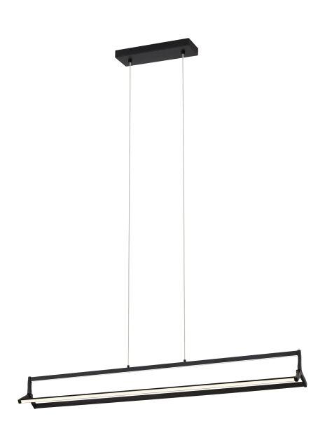 Naveen 3-Light LED Kitchen Island Pendant Finish: Matte Black