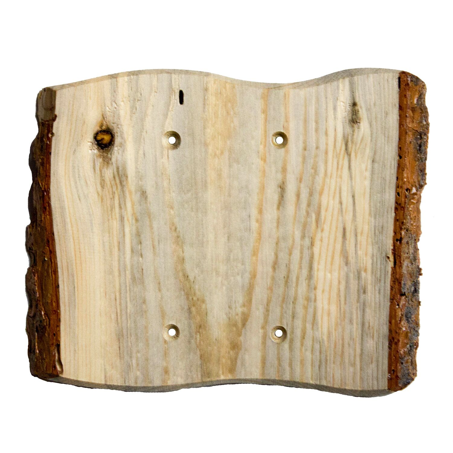 Rustic - 2 Blank Finished Finish: Blued Pine