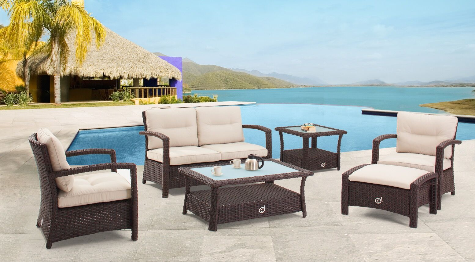 Gault Deep Seating Group with Cushions