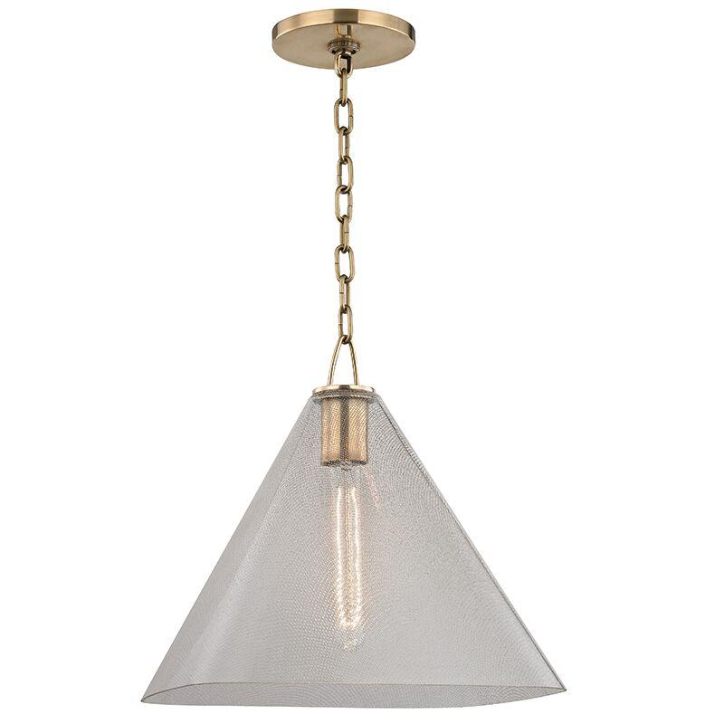 Jaylon 1-Light Cone Pendant Size: 13.5