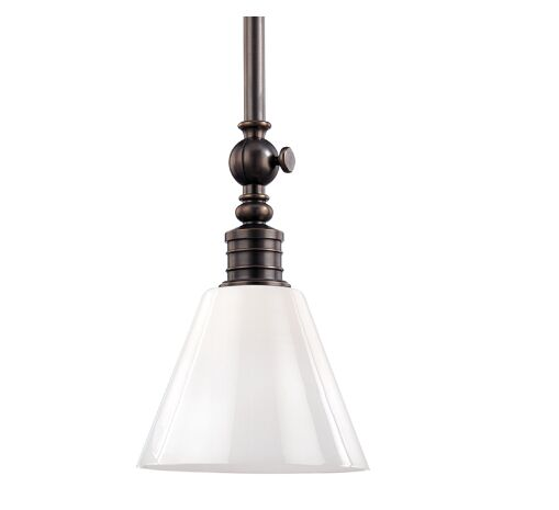 Charley 1-Light Cone Pendant Finish: Distressed Bronze