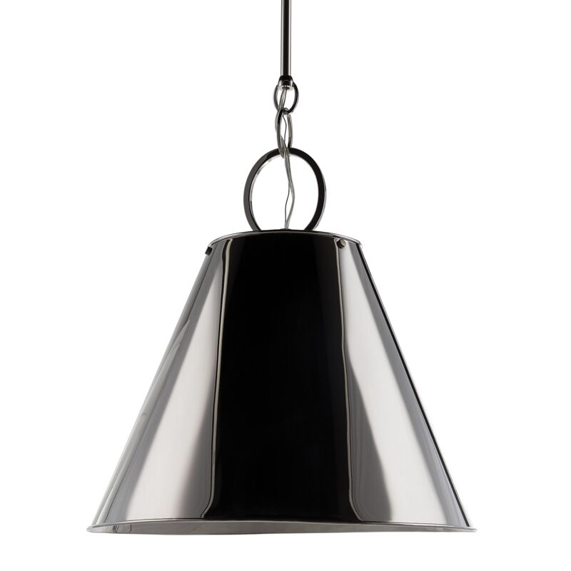Molly 1-Light Cone Pendant Finish: Polished Nickel