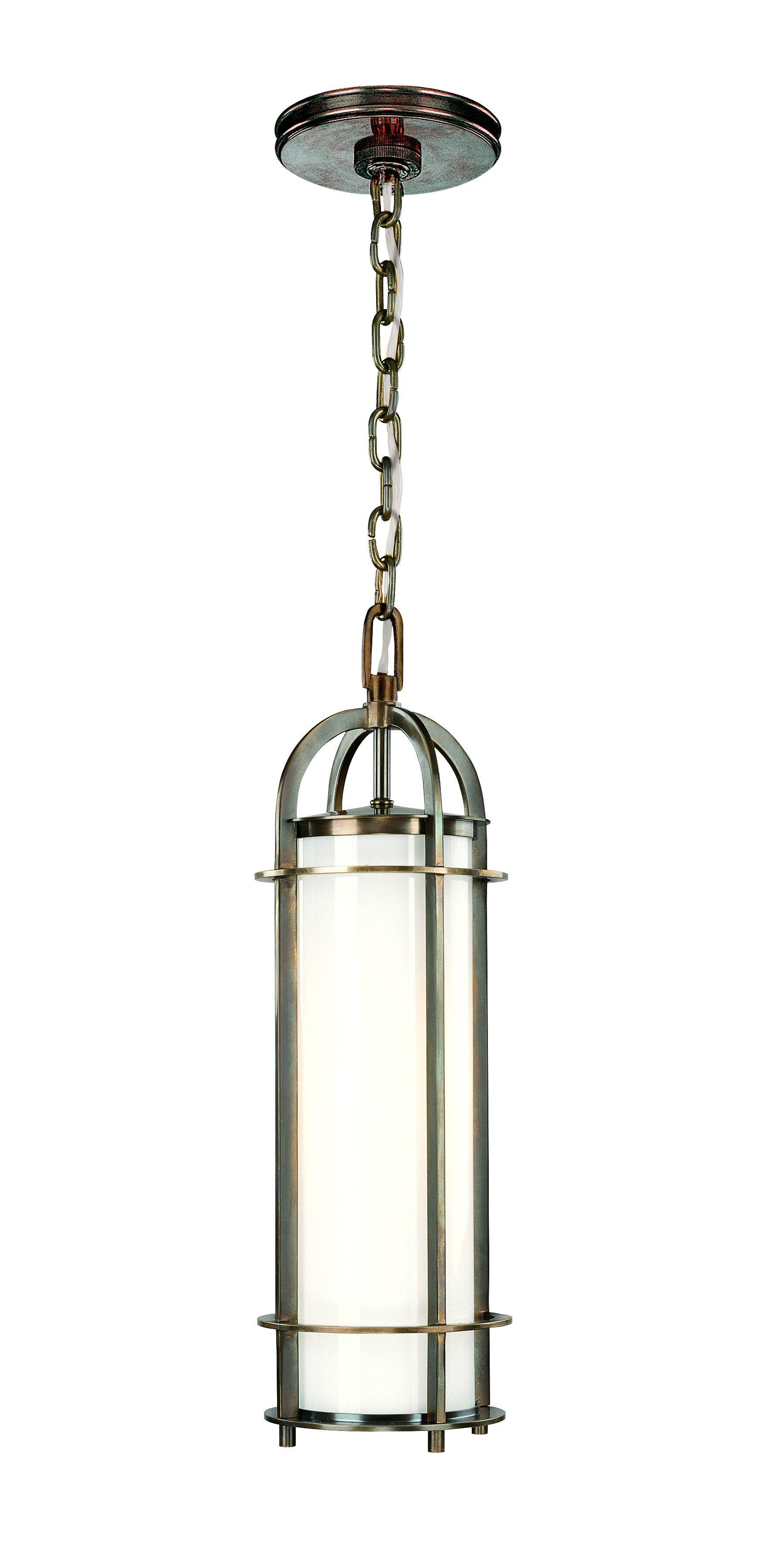 Argus 1-Light Cylinder Pendant Finish: Historic Nickel, Size: 4.25