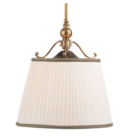 Branch 1-Light Cone Pendant Color: Aged Brass, Size: 12.5