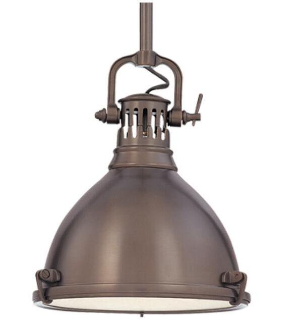 Argana 1-Light Bell Pendant Finish: Historic Bronze