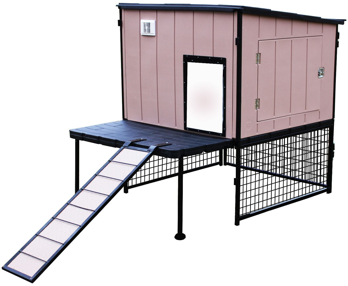 Scarlett Coop with Roosting Bar