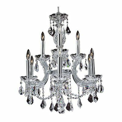Maria Theresa 9-Light Candle Style Chandelier