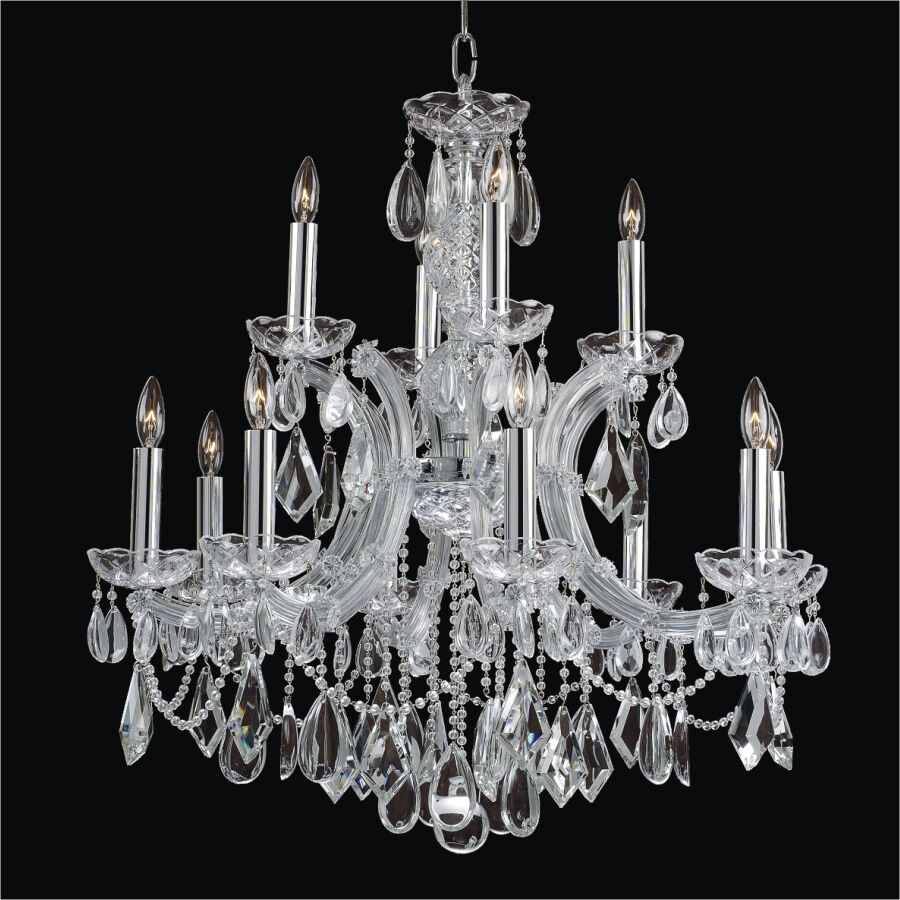 Maria Theresa 12-Light Candle Style Chandelier