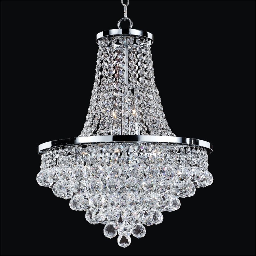 Thorpe Traditional 8-Light Chandelier