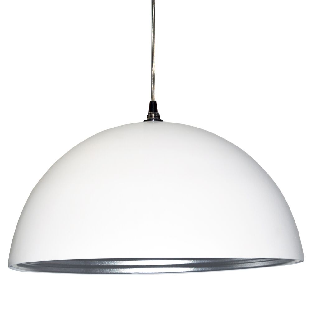 Helsinki 1-Light Dome Pendant Shade Color: Matte White
