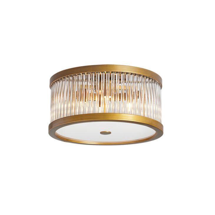 Greffen 4-Light Flush Mount Finish: Vintage Bronze