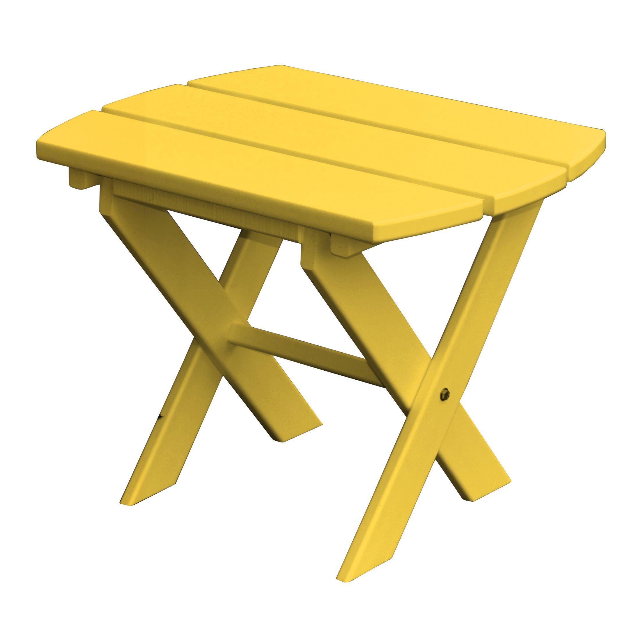 Newport SideTable Finish: Yellow