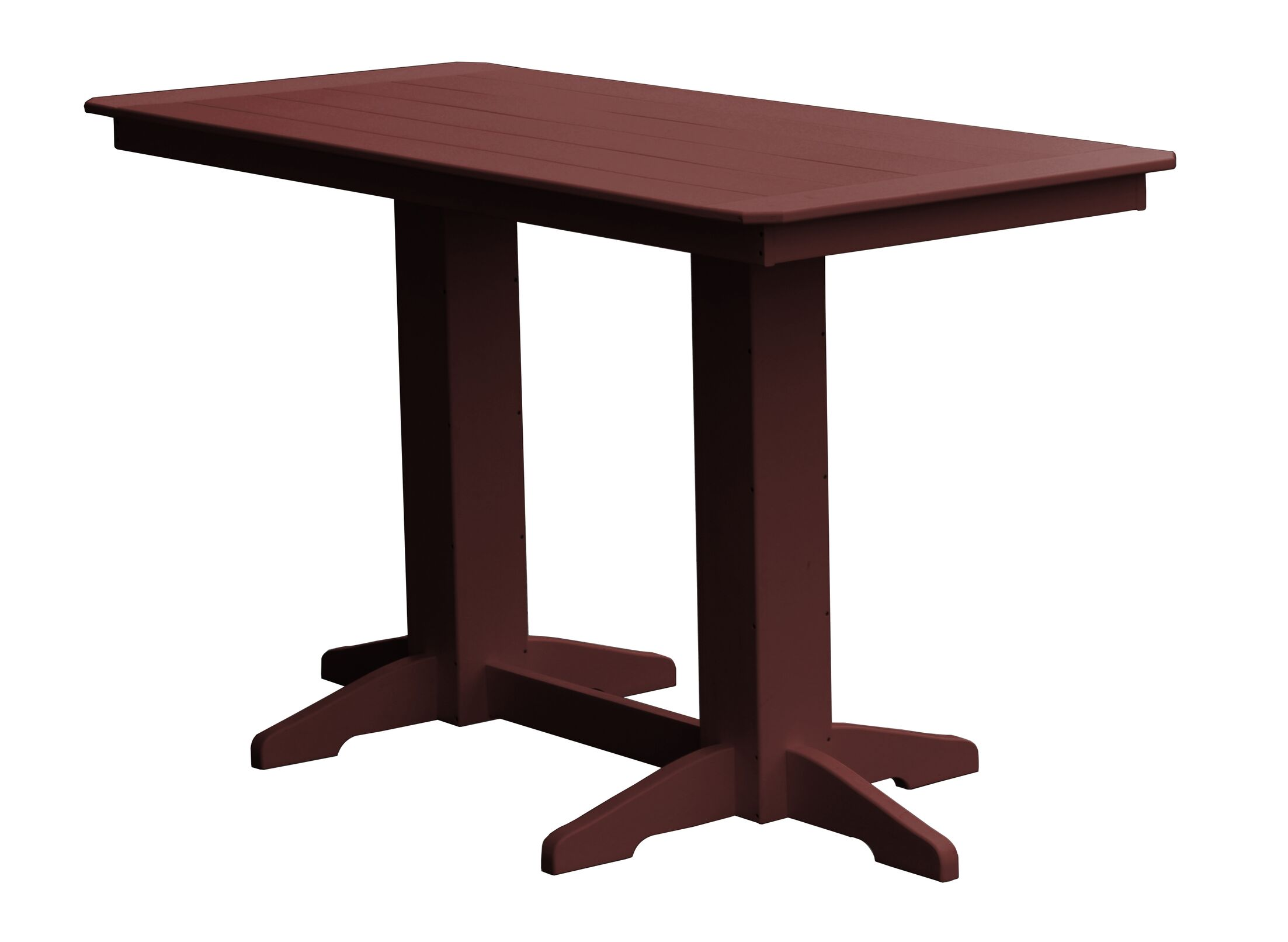Newport Bar Table Finish: Cherry Wood
